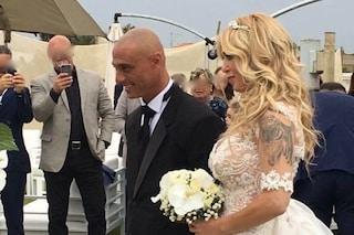 """Roberta Bruzzone festeggia due anni di matrimonio con Massimo Marino: """"Unico amore della mia vita"""""""