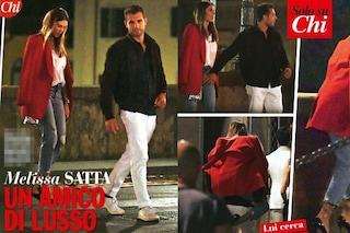 Melissa Satta con Tommy Chiabra, l'ex di Prince Boateng a Milano con il noto playboy