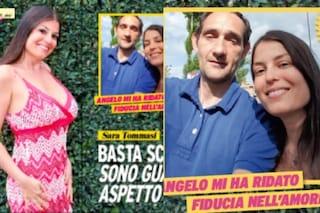 """Sara Tommasi mostra il fidanzato Angelo: """"Spesso litighiamo, è difficile capire il mio passato"""""""