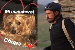 """Vittorio Brumotti e la morte del cane Chupa: """"Insieme dal 2006, piccolo mio mi mancherai"""""""