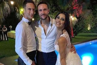 Jacopo Zenga si è sposato, presenti papà Walter e il fratello Andrea di Temptation Island Vip
