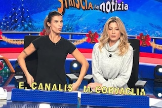 Elisabetta Canalis e Maddalena Corvaglia si sarebbero allontanate, è gelo sui social