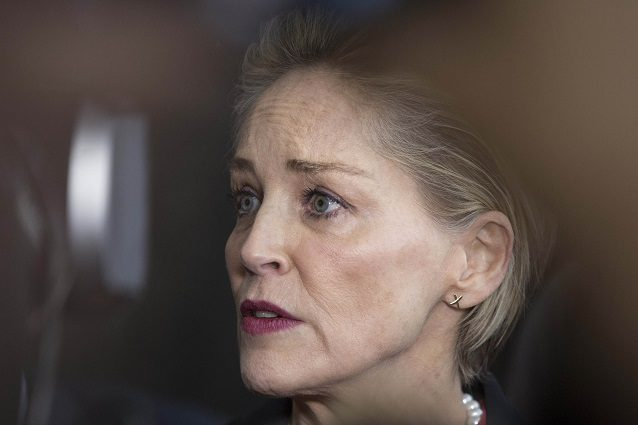 Sharon Stone shock: