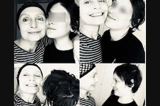 """""""Ci vediamo appena finita la terapia"""", le commoventi parole tra Sabrina Paravicini e il figlio Nino"""