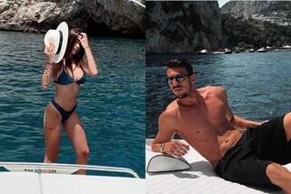 """Angela Nasti e Mattia Marciano di nuovo insieme secondo """"Chi"""", ma lei vola a Creta con la sorella"""