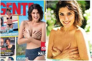 """Elisa Isoardi in topless dopo i commenti sui chili di troppo: """"Ora ho ripreso in mano la mia vita"""""""