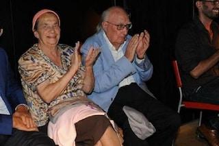 La famiglia di Andrea Camilleri: le figlie e la moglie Rosetta Dello Siesto, con lui per 62 anni