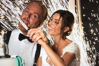 Si è sposata la showgirl Susanna Petrone: le foto delle nozze vip a Positano