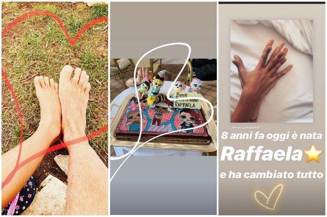 Eros e Marica Pellegrinelli, insieme a Taormina: le foto esclusive della coppia