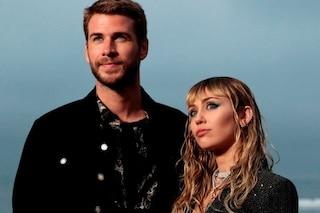 Miley Cyrus e Liam Hemsworth si sono lasciati, si erano sposati appena 8 mesi fa