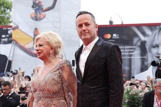 Sandra Milo a Venezia 2019 con Alessandro Rorato, imprenditore 49enne e suo nuovo compagno