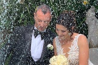 """Amadeus e Giovanna Civitillo un mese dopo il matrimonio religioso: """"Fortunati ad amarci"""""""