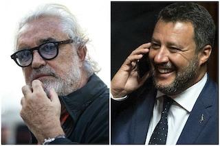 """Flavio Briatore: """"Matteo Salvini bravo comunicatore, se mi chiamasse al Governo potrei dire di sì"""""""