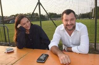 """Matteo Salvini e Francesca Verdini non si sono lasciati: """"La crisi di coppia è una fake news"""""""