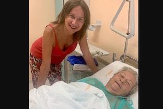 """Ricoverata la madre di Vladimir Luxuria: """"Il suo cuore resti forte, pericolo scampato"""""""