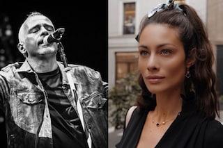 Marica Pellegrinelli al concerto di Eros Ramazzotti dopo la separazione