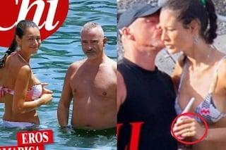 """Eros Ramazzotti e Marica Pellegrinelli di nuovo vicini per i figli: """"Hanno rimesso le fedi"""""""