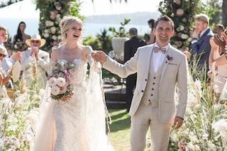 Matthew Bellamy dei Muse ha sposato Elle Evans, i video e le foto dalle nozze