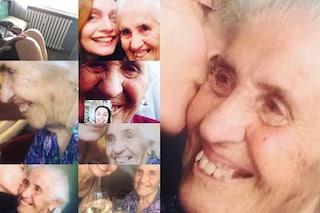 """Sabrina Paravicini ricorda la nonna: """"La chemioterapia mi ha impedito di venire al tuo funerale"""""""