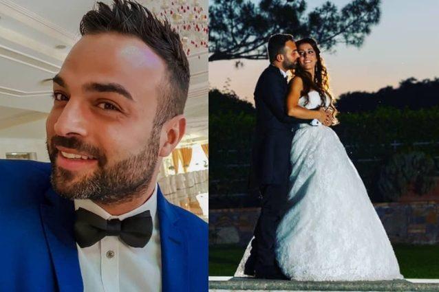 La foto del matrimonio è di Mirko Mattiocco dello studio Colizzi