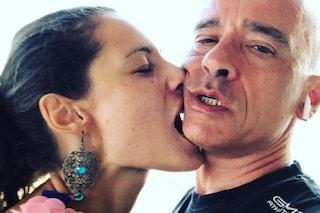 """Marica Pellegrinelli con Charley Vezza, Eros Ramazzotti: """"Bisogna essere forti, la vita va avanti"""""""
