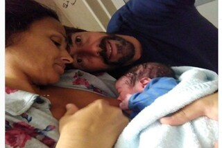 È nato Tommaso, il figlio di Jara Gaspari e Nicola Balestra