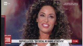 """Raffaella Fico: """"Sui social mi scrivono di tutto. Balotelli? L'ho perdonato per mia figlia"""""""