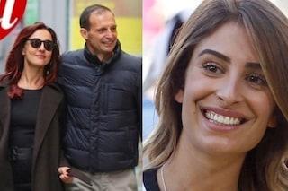 """Ambra Angiolini e Massimiliano Allegri """"vanno a convivere"""". E la figlia di lui sparisce dai social"""