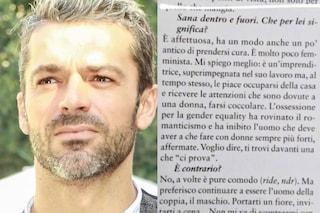 """Luca Argentero scatena la bufera: """"Parità tra sessi rovina il romanticismo, donne sempre più forti"""""""