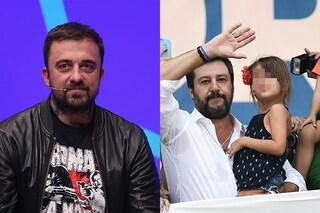 """Chef Rubio attacca Matteo Salvini: """"Sfrutti una bambina per i tuoi scopi, sei un uomo spregevole"""""""