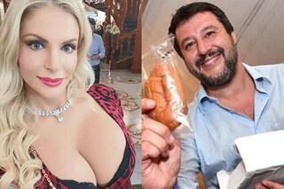 """Francesca Cipriani: """"Scenderei in piazza per Matteo Salvini, questo governo non mi piace"""""""