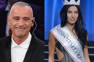 """Miss Italia Carolina Stramare e il messaggio privato da Eros Ramazzotti: """"Non ci potevo credere"""""""