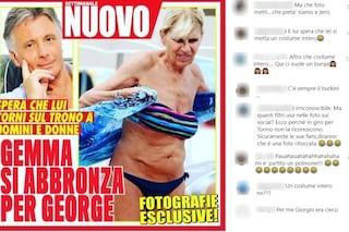 Gemma Galgani sorpresa in bikini a 70 anni, di imbarazzante nella foto c'è solo la shitstorm