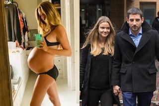 """Fiammetta Cicogna al nono mese di una gravidanza gemellare: """"Ho preso 11 kg, vi svelo la mia dieta"""""""