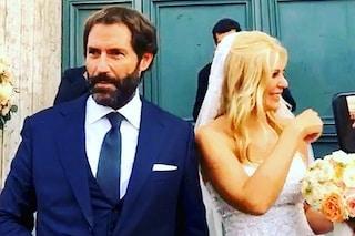 Eleonora Daniele ha sposato Giulio Tassoni, le foto e i video del matrimonio