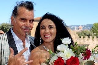 """Piero Pelù ha sposato Gianna Fratta: """"Benvenuta nella mia tribù, donna sensibile e razionale"""""""