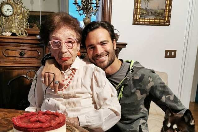 Giulio Berruti in lutto, morta la nonna: