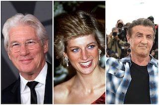 Richard Gere e Sylvester Stallone litigarono per Lady Diana ad una cena organizzata da Elton John