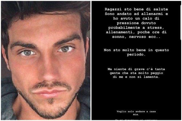 Daniele Dal Moro ricoverato in ospedale: