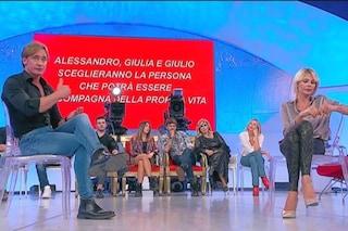 """Andrea Ippoliti a UeD: """"Vivrò Zoe Mallucci per quanto durerà"""", la Caldonazzo: """"Sei un pupazzo"""""""