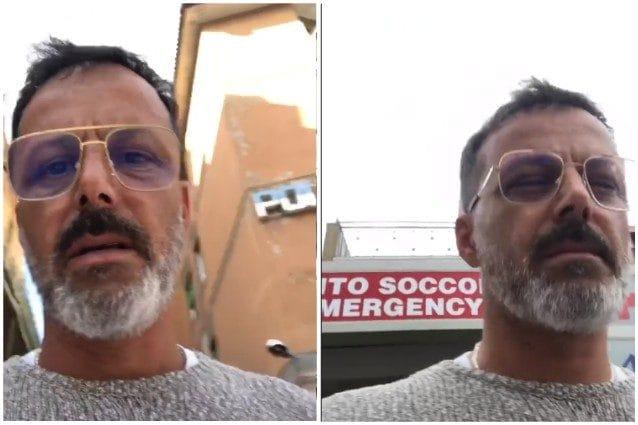 Kikò Nalli aggredito in strada finisce in ospedale per trauma cranico
