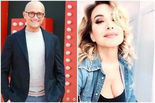 """Alfonso Signorini e Barbara D'Urso di nuovo amici: """"Che bello ritrovarsi, bentornata Barbara"""""""