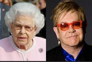 La Regina Elisabetta e gli schiaffi, la nonna che non ti aspetti raccontata da Elton John