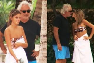 """""""Benedetta Bosi bacia teneramente Flavio Briatore"""": chi è la studentessa di 20 anni"""