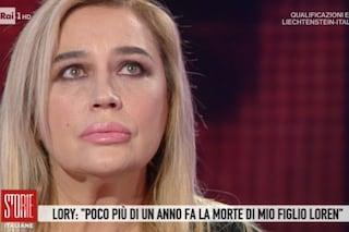 """Lory Del Santo: """"Mio figlio morto di una malattia misteriosa, viveva sotto pelle. Non ero preparata"""""""