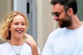 """Jennifer Lawrence sposa Cooke Maroney: """"La data del matrimonio è il 19 ottobre, ecco il menu"""""""