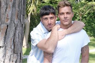 """Come Ricky Martin ha conquistato il marito Jwan Yosef: """"Sono serviti sei mesi di messaggi"""""""