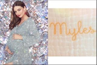 """Miranda Kerr mamma per la terza volta, è nato Myles: """"Non potremmo essere più felici"""""""