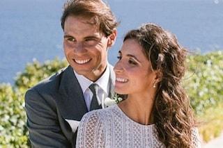 Rafael Nadal ha sposato Xisca Perelló, presente l'ex re Juan Carlos, assente Roger Federer
