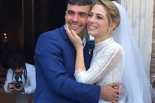 Federica De Benedittis e Giulio Corso de Il Paradiso delle signore si sono sposati, presente il cast